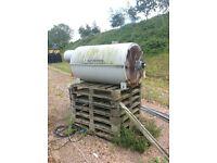 Industrial heater - for spaces or repair