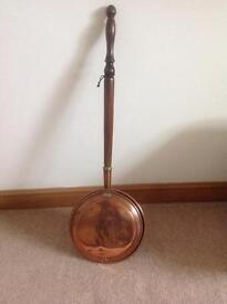 Victorian Copper Warming Pan