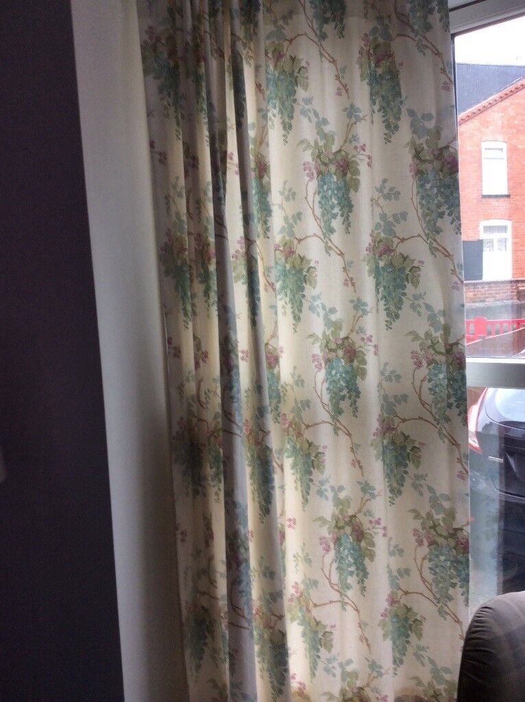 collect fabric idea and this for ashley image laura remnants ireland curtain curtains cool pink full sale grey