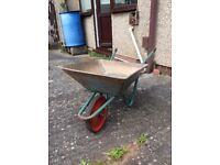 Gardening wheel barrel