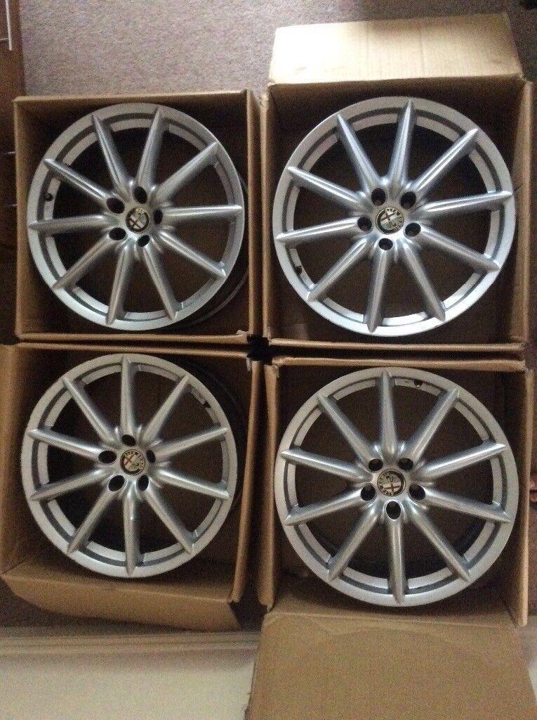 4 alloy whells Alfa 159/Brera 19