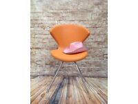 Modern Tanon Concept Orange Dining Chair