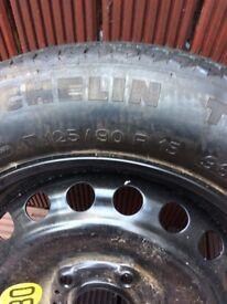 BMW Tyre with rim BRAND NEW