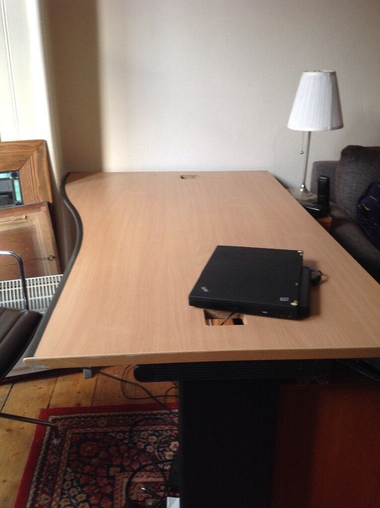 Large Desk In Good Condition Enough For 2 People Computers