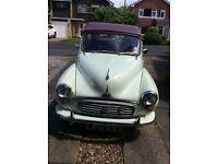 Morris minor convertible 1961 (tax excempt)