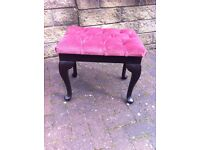 lovely reproduction dressing table stool