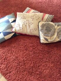 4 cushions and covers from next