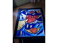 Lovely modern style hand painted picture on canvas