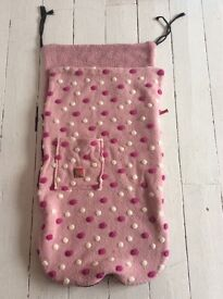 Pink buggie snuggle for pushchair