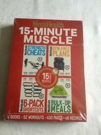 Men's health book set new sealed
