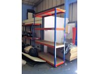 INDUSTRIAL WAREHOUSE GARAGE SHED SINGLE BAY RAPID RACKING SHELVING UNIT