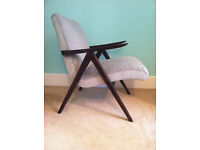 Newly refurbished Danish style vintage chair