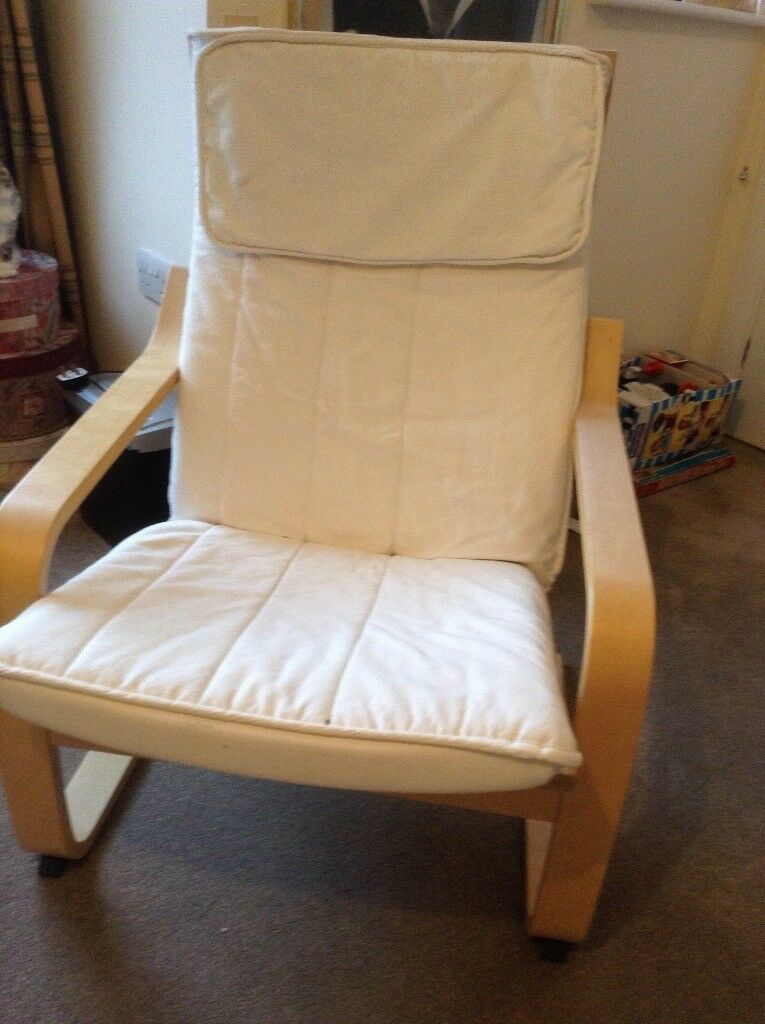 Ikea Cream Armchair In Coulsdon London Gumtree