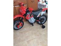 Childs Electric Motorbike