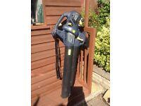 GMC 30cc petrol leaf blower vac