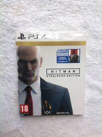 Hitman PS4 Game (Steel book edition)
