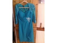 Green dress - Brand new with accompanying jacket