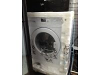 Beko integrated washing machine new in package 12 mth gtee
