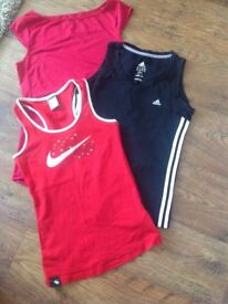 Ladies Sports/Gym Vest Tops.