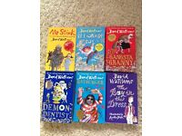DAVID WALLIAMS FIRST EDITION HARD BACK BOOKS X6 NEW