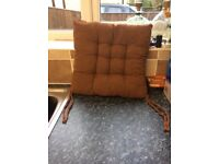 Set of Seat Cushions with ties