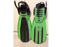 TUSA Imprex Fins (green & black)