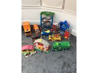 Boys toys including Thomas track and lots more