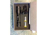 Tactical CREE High Performance LED Torch with Holster - brand new and unused