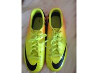 Nike mercurial football boots size 2.5 immaculate condition