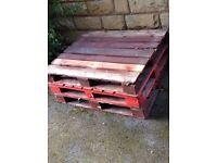 FREE pallets - 5 or 6 (120x100cm)