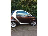 Smart Car, High Style, Full Mercedes service history, covered by Smart car warranty.