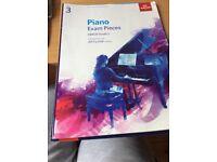 ABRSM Piano books Grade 3