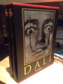 Complete Salvador Dali paintings historical reference books