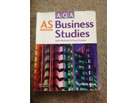 AQA AS Business Studies 2nd edition