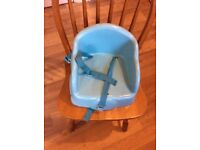 Child's chair booster