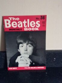 Beatles monthly magazines