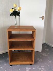 Oak Stereo Cabinet