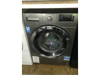 Beko 8kg 1600spin washing machine. Graphite RRP £329. New/graded 12 month Gtee.