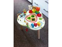 Wooden activity table by ELC