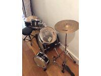 Kids tiger drum kit