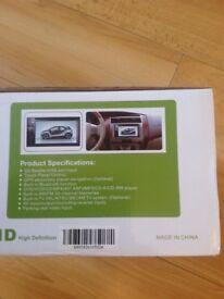 Car dash DVD & CD Screen Player