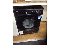 Black 7kg washing machine new graded 12 mths gtee