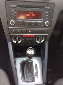 2012 Audi A3 diesel sportback s-tronic gearbox in black