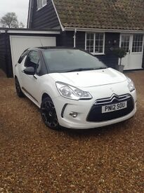 Citroen ds3 dstyle plus 3dr white only 35000 miles