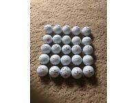 Wilson Staff reclaimed golf balls