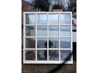 1 week old Double glazed window fully glazed cost £700 plus another that isn't glazed