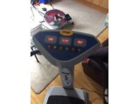 Vibration fitness excercise plate