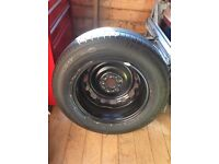 """Mazda 6 (2014--) Spare steel wheel and tyre - brand new unused. 16"""""""