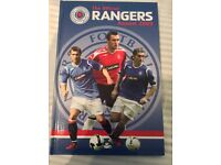 Rangers FC official annuals 2009-2017