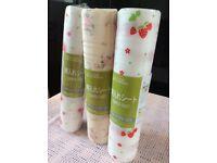 3 rolls of draw liner